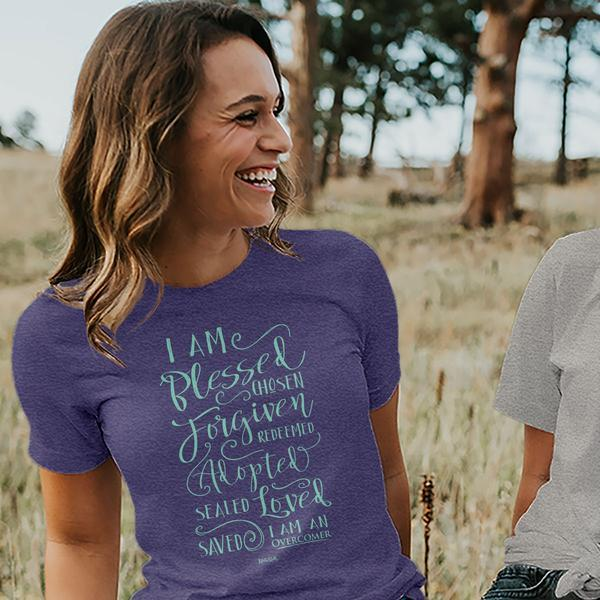 Overcomer Movie Women's Christian T-shirt