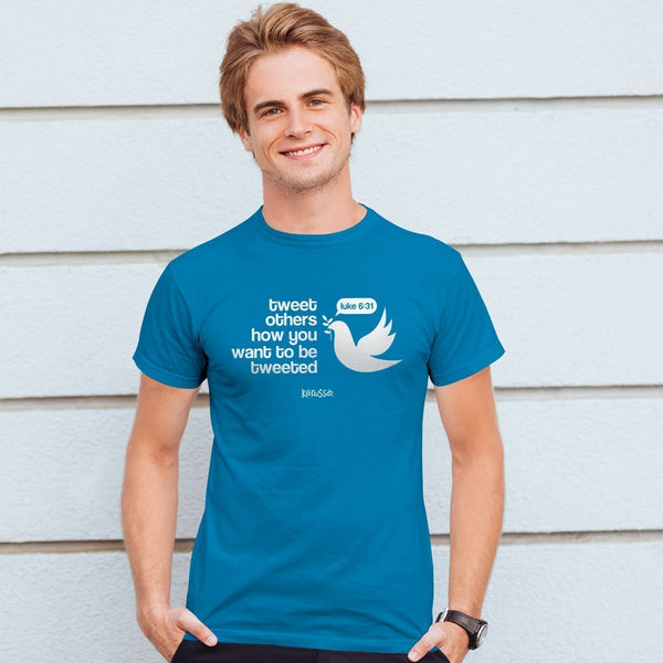 Tweet Others - Luke 6:31 - Men's Christian T-shirt