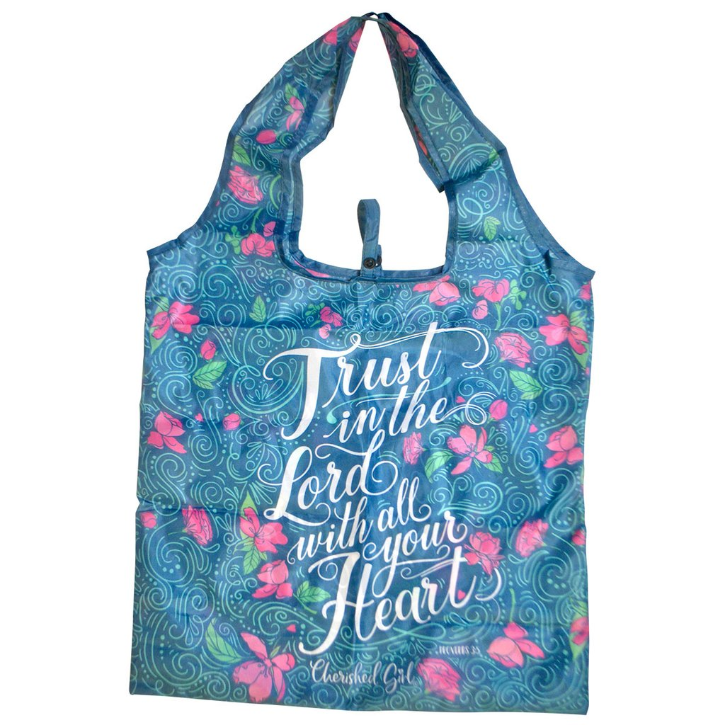 Trust in the Lord - Proverbs 3:5 - Reusable Shopping Bag