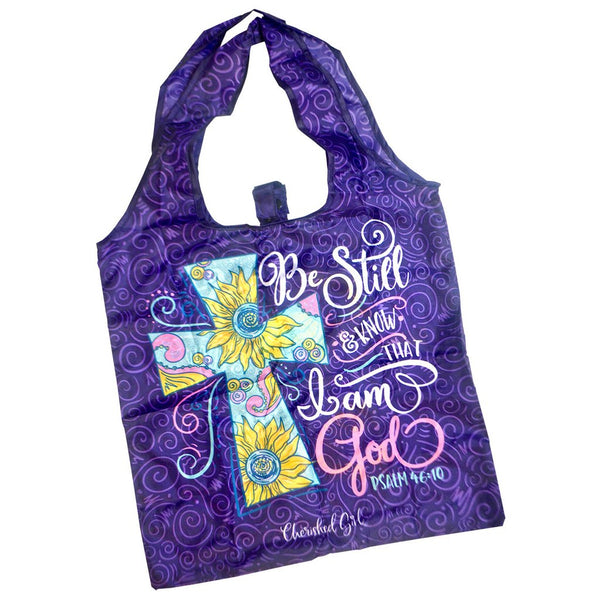Be Still - Psalm 46:10 - Reusable Shopping Bag