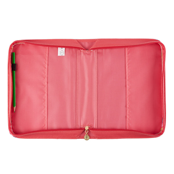 Choose Joy Bible Cover Coral