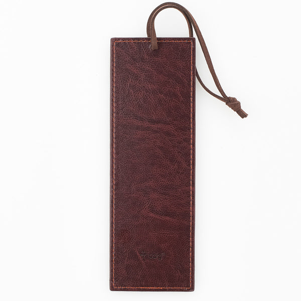 I Know The Plans - Jeremiah 29:11 - Brown Faux Leather Bookmark