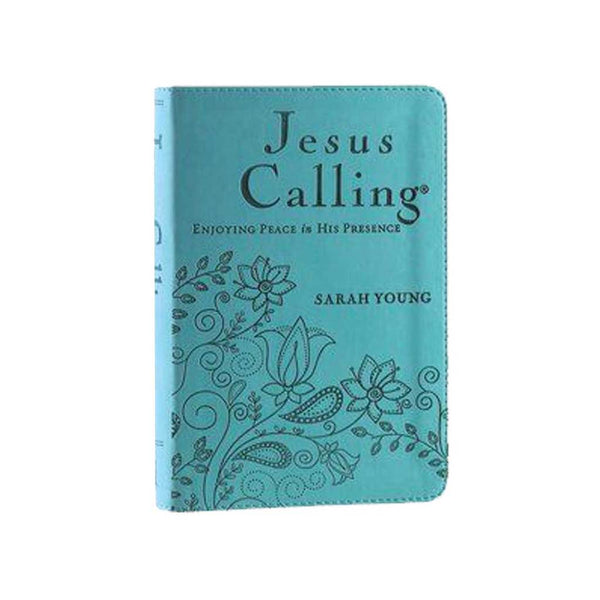 Jesus Calling Devotional in Teal
