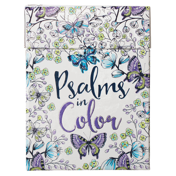 Boxes of Blessings - Psalms in Color: Cards to Color and Share