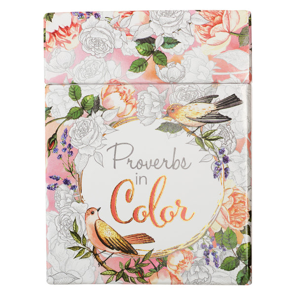 Proverbs in Color: Cards to Color and Share