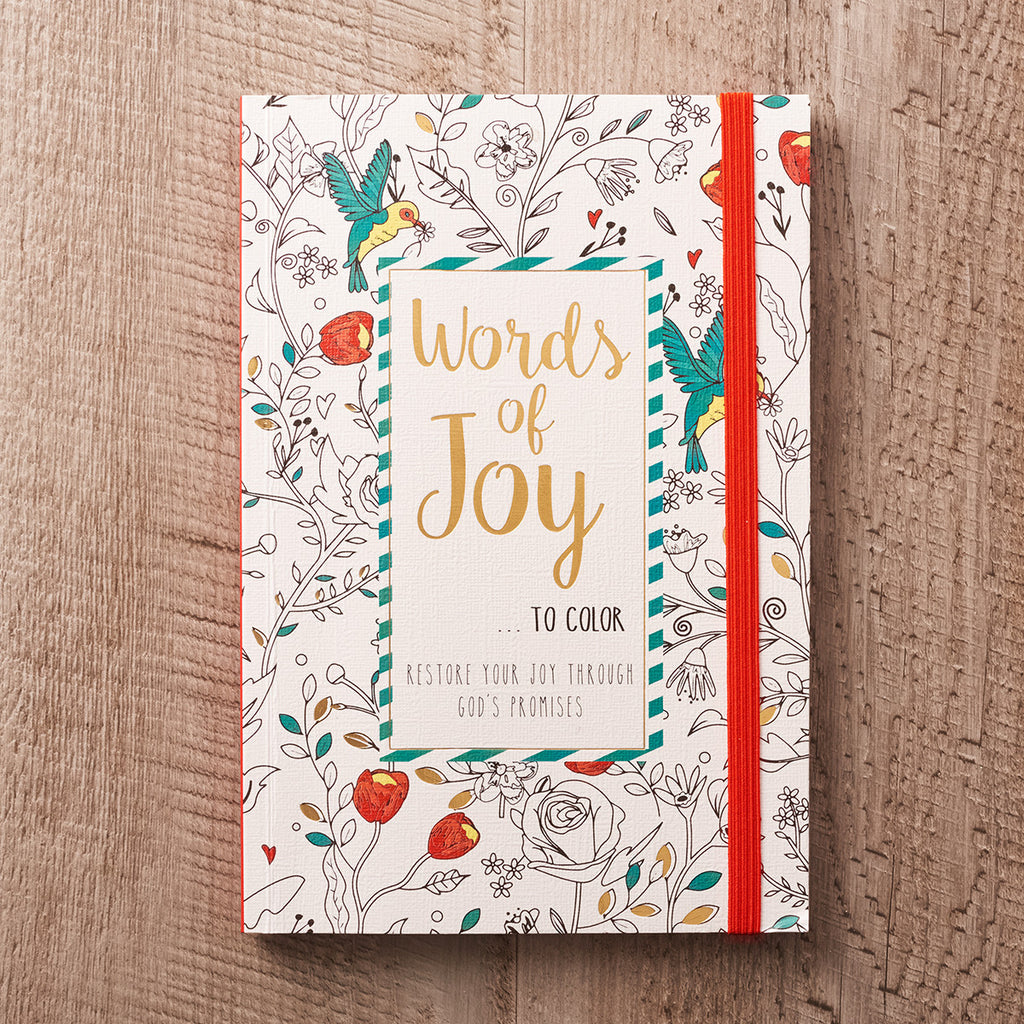 Words of Joy Coloring Book