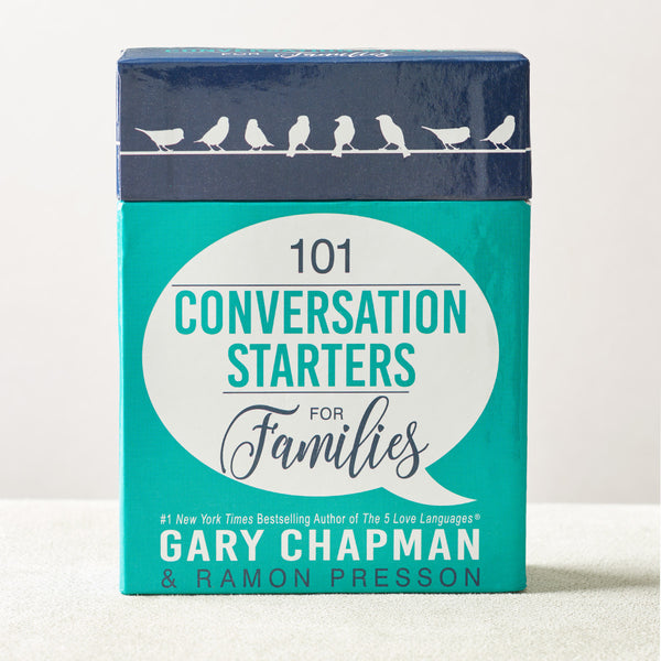101 Conversation Starters for Families by Gary Chapman