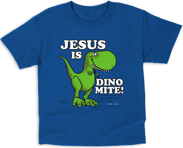 Dino-Mite Children's Christian T-shirt