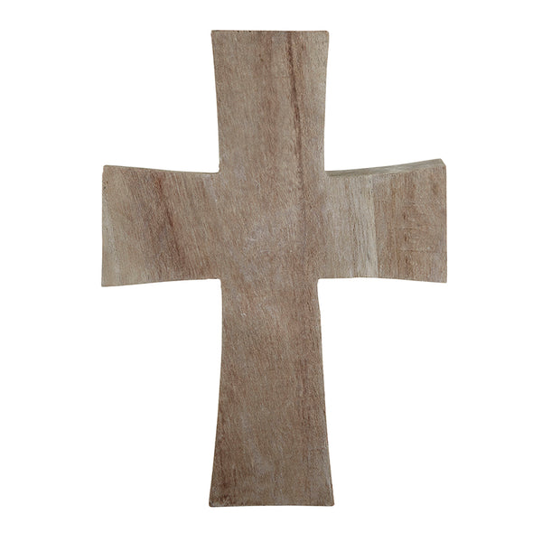 Paulownia Wood Standing Cross