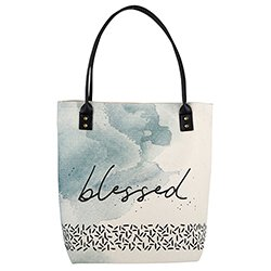 Blessed Canvas Tote Bag