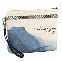 Choose Joy Canvas Pouch