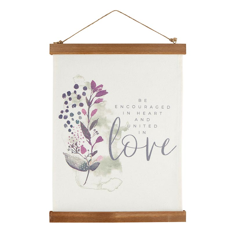 United in Love Canvas Banner