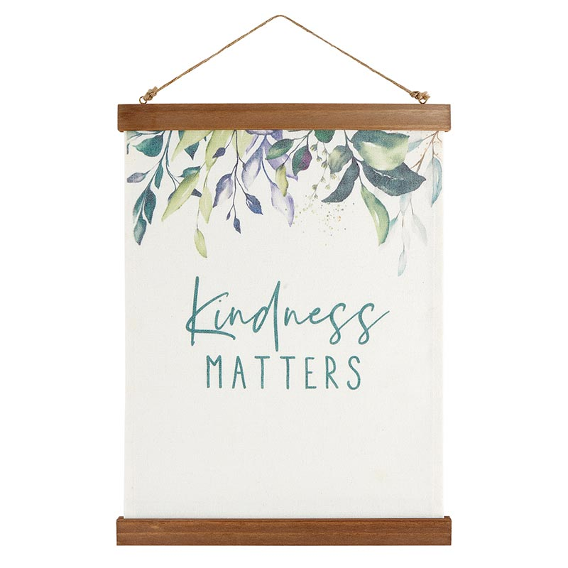 Kindness Matters Canvas Banner