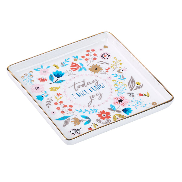 Choose Joy Trinket Tray