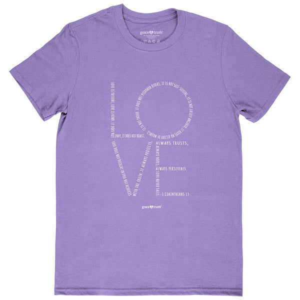 Love - 1 Corinthians 13 - Women's Christian T-shirt
