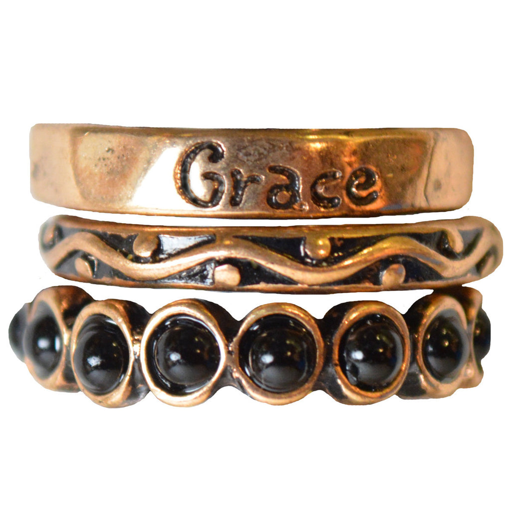 Grace Women's Christian Ring