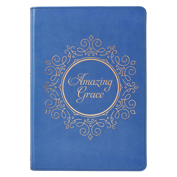 Amazing Grace Faux Leather Journal