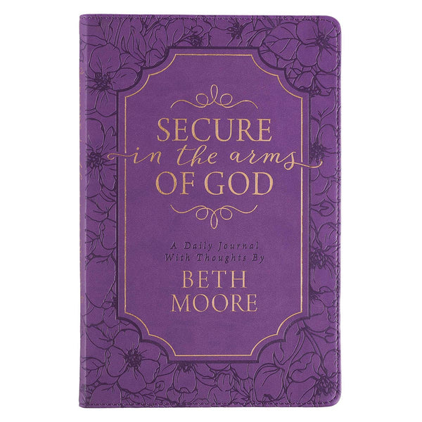 Secure in the Arms of God Guided Journal by Beth Moore