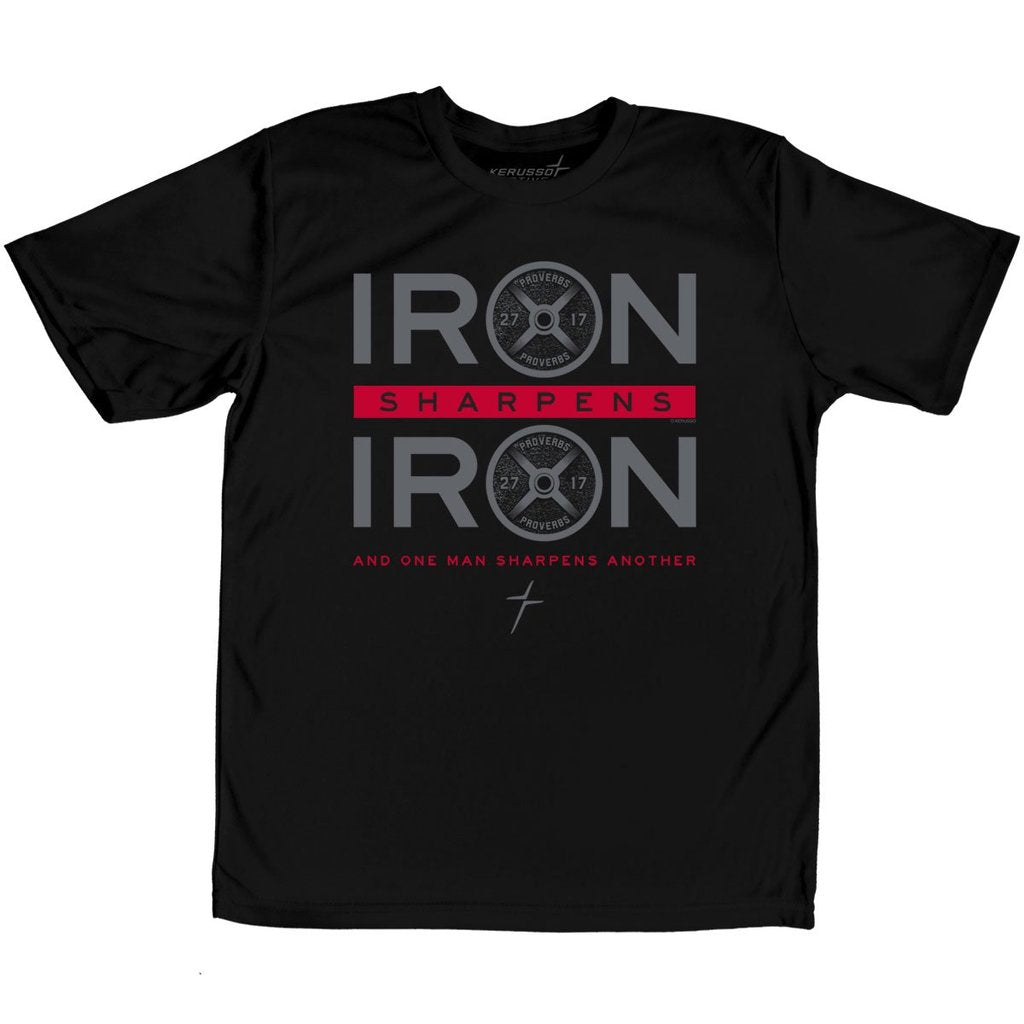 Iron Sharpens Iron Children's ACTIVE Christian T-shirt