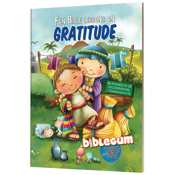 Biblegum Gratitude - Fun Bible Lessons