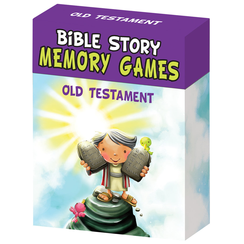 Bible Story Memory Games - Old Testament