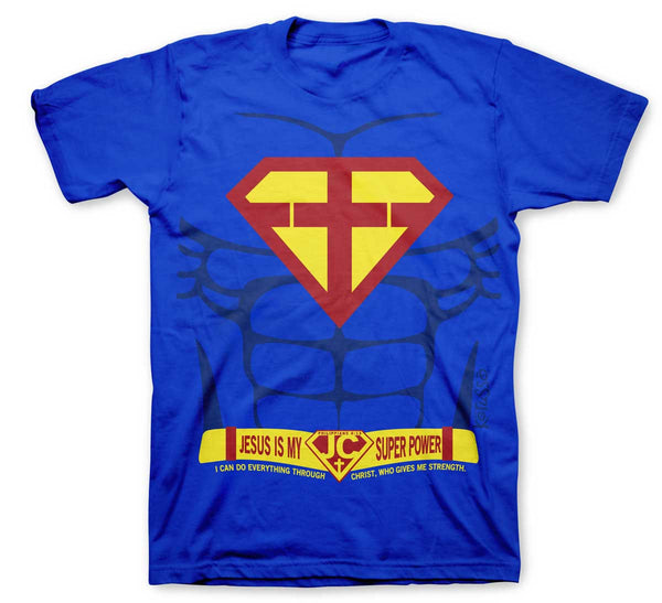 Super Power Children's Christian T-shirt