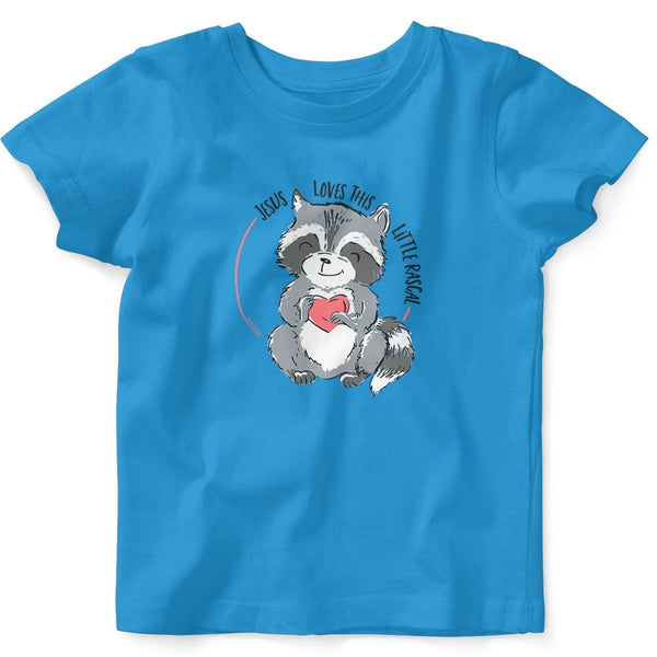 Jesus Loves This Little Rascal Baby T-shirt