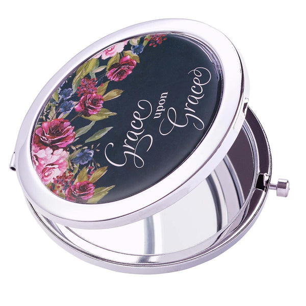 Grace upon Grace Compact Mirror