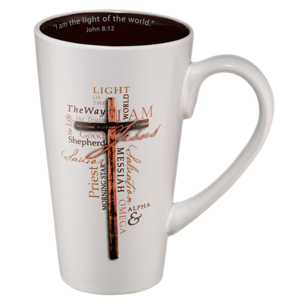 Names of Jesus/Cross Mug