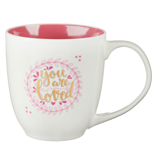 You Are Loved - 1 John 4:19 - Mug