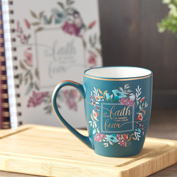 Faith Bigger than Fear Mug