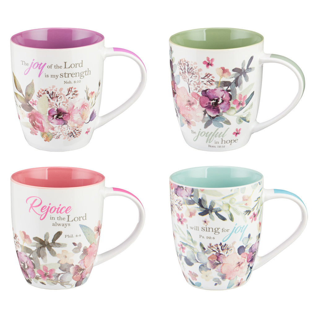 Rejoice Coffee Mug Set