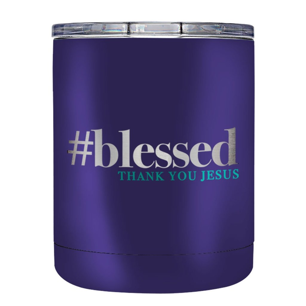 #Blessed Stainless Steel Mug