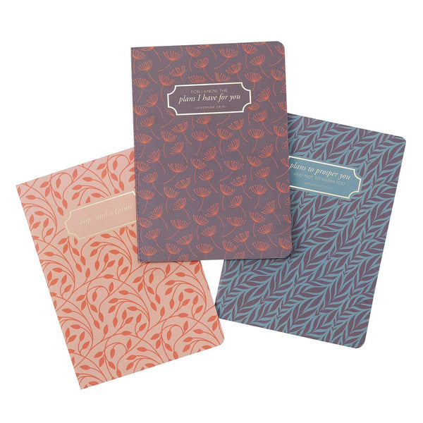 I Know the Plans - Jeremiah 29:11 - Notebook Set