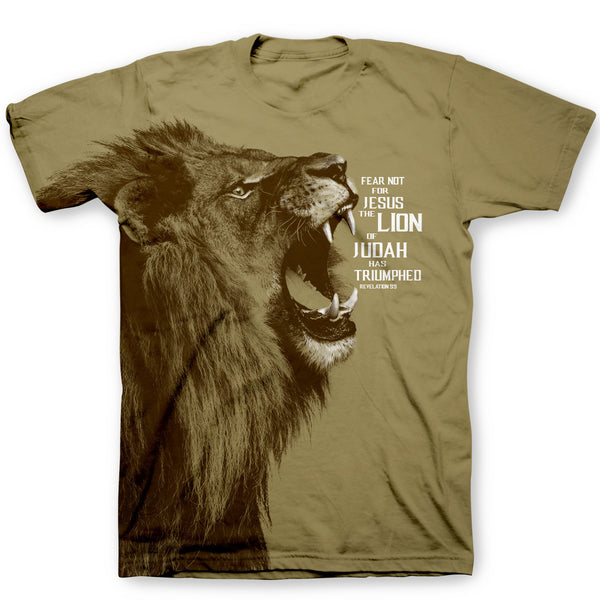 536f3a8bd Lion Of Judah Men's Christian T-Shirt