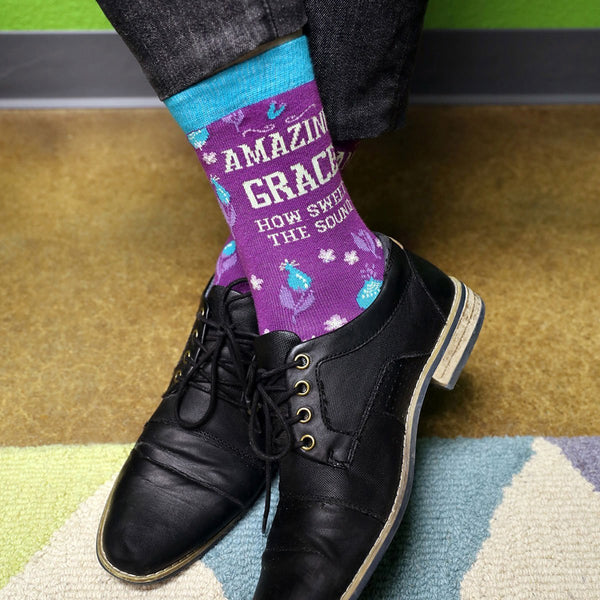 Amazing Grace Socks