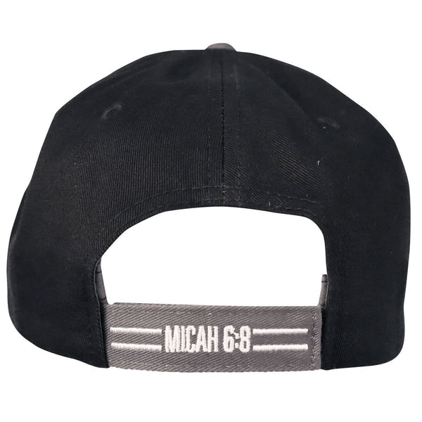 Live Justly Love Mercy - Micah 6:8 - Men's Christian Cap