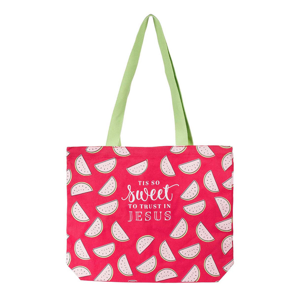 'Tis So Sweet Canvas Tote Bag