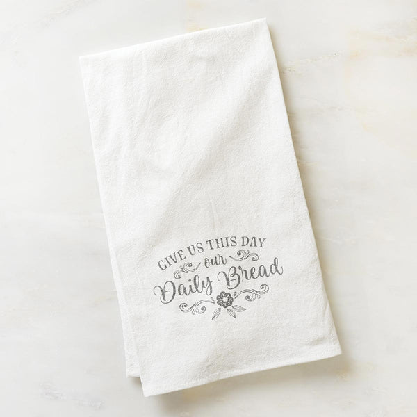 Daily Bread - Matthew 6:11 - Tea Towel