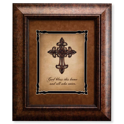 16 x 19 Wall Decor - God Bless This Home