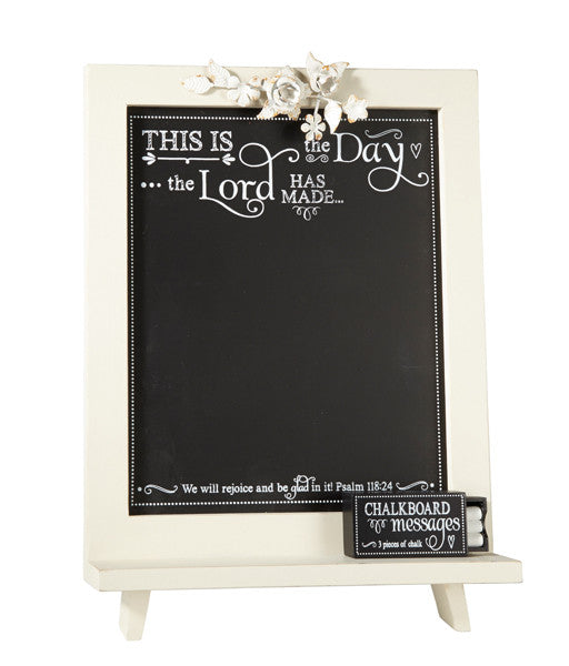 This Is the Day - Psalm 118:24 - Chalkboard