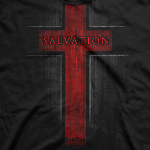 Salvation - Acts 4:12 - Men's Christian T-shirt