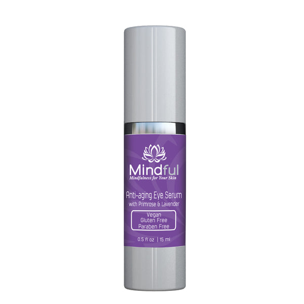 Anti-aging Eye Serum with Primrose Oil and Lavender
