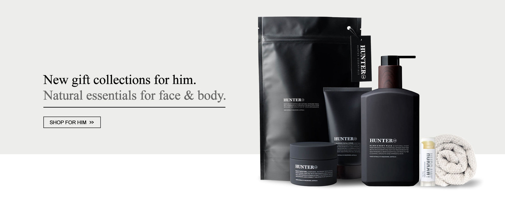 Gift of Him - Natural Skincare Grooming