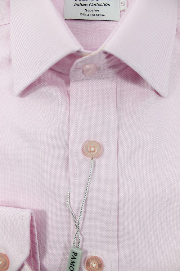 Slim Fit Pink Oxford Shirt