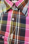 Multi Color Check Fitted Shirt