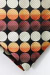 Red & Orange Circles Design Cravat