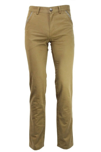 Camel Slim Fit Chino