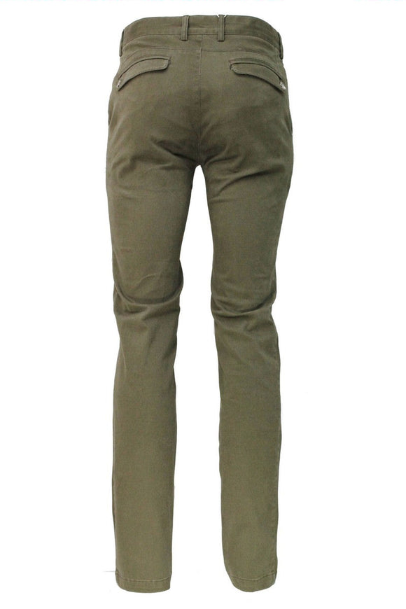 Khaki Stretch Slim Fit Chino