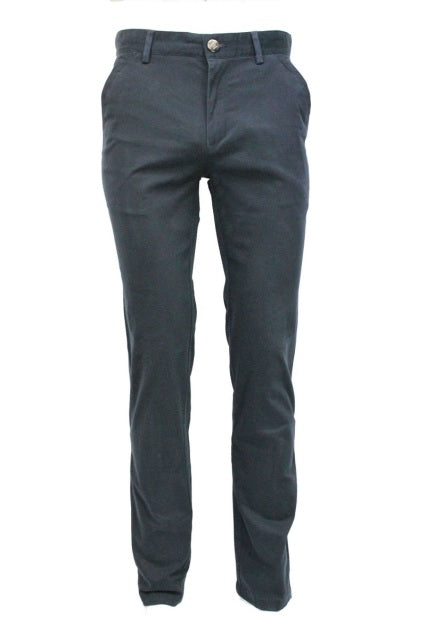 Navy Stretch Slim Fit Chino